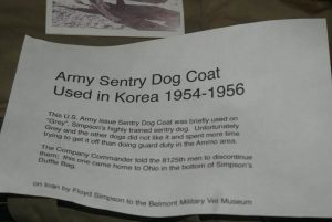Army Sentry Dog Coat information