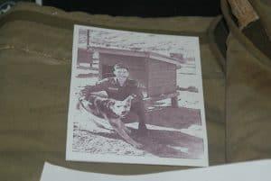 Army Sentry Dog Coat Portrait