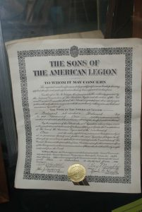 Sons of the American Legion Charter